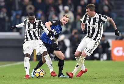 Juventus e Inter empatan 0-0 en un Derbi de Italia dominado por la táctica