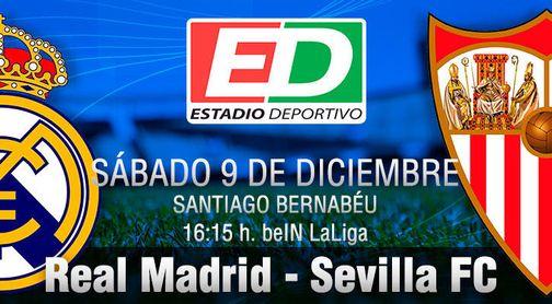 Real Madrid-Sevilla FC: Sitio y hora para dar el gran golpe