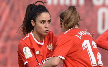 La italiana Piemonte hizo el primer gol del Sevilla.
