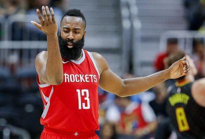 117-124. Harden anota 48 puntos y mantiene ganadores a Rockets