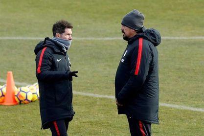 """Simeone sabe que el Betis """"está necesitado""""."""
