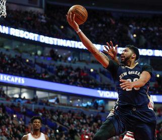131-124. Holiday con 34 puntos hace la diferencia en el triunfo de los Pelicans