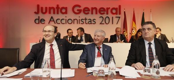 La Junta general del Sevilla aprueba cuentas con un beneficio neto de 23,4 millones