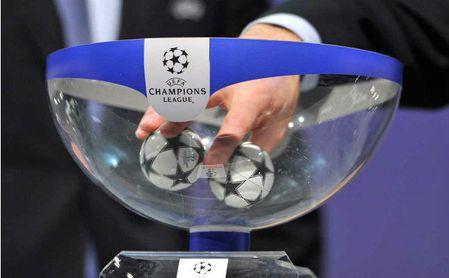 Horario y televisión del sorteo de Champions
