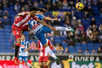 0-1. El Girona enciende las alarmas del Espanyol