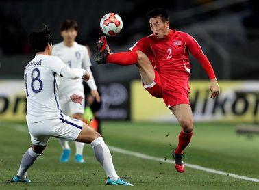 Corea del Sur se impone a la del Norte en un partido de la Copa del Este de Asia