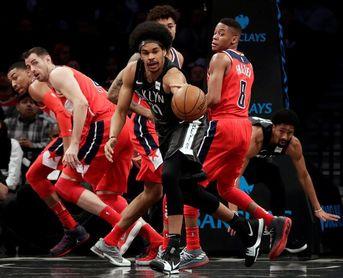 103-98. Jefferson y los Nets sorprenden a los líderes Wizards