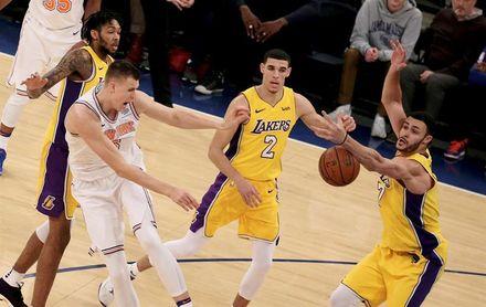 113-109. Beasley sella el triunfo de los Knicks sobre los Lakers