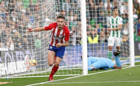 Pese a mejorar su juego, el Betis también perdió contra el Atlético.
