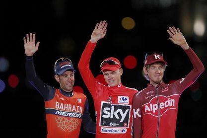 Nibali dice que una sanción a Froome no le devolvería la emoción de ganar la Vuelta