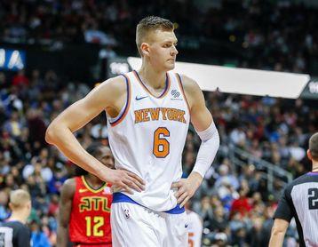 104-111. Lee lidera a los Knicks al triunfo a pesar de la lesión de Porzingis