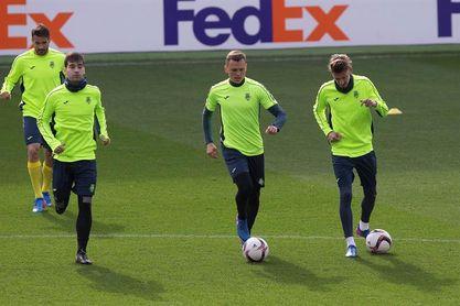 Cheryshev retoma los entrenamientos y podría estar contra el Celta de Vigo