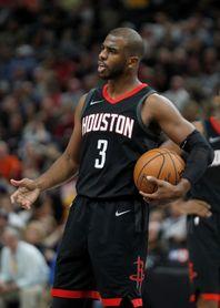 Chris Paul y los Rockets impresionan ante los Spur; los Thunder ganan un partido maratoniano