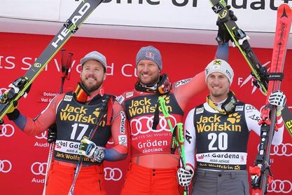 Svindal gana el descenso de Val Gardena-Groeden