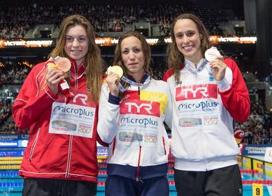 Jessica Vall vuela para colgarse el oro en los 200 braza