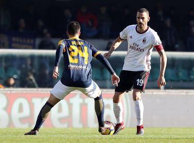 El Milan se hunde en Verona (0-3)