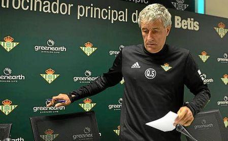 Setién habla del partido contra el Málaga, su relación con Míchel y la falta de gol