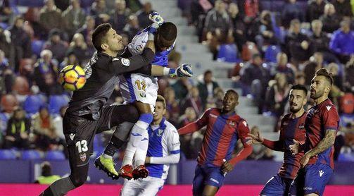 0-0. Levante y Leganés cierran el año sin goles y apenas ocasiones
