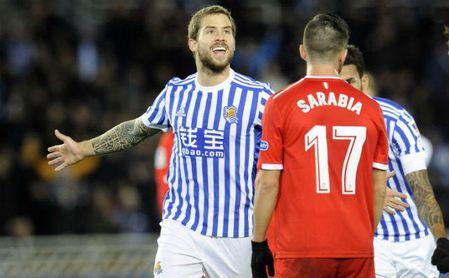 Real Sociedad 3-1 Sevilla F.C.: Carbón antes del derbi