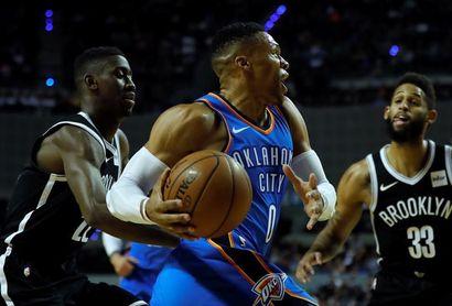 107-79. Westbrook da triunfos seguidos a los Thunder