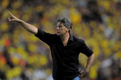 El Gremio, campeón de la Copa Libertadores, renueva a su entrenador, Renato Gaúcho