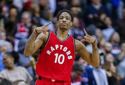 109-114. DeRozan llega a 45 puntos y los Raptors llegan a cinco triunfos seguidos