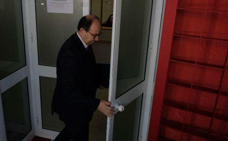 José Castro sí ha estado en el Sánchez Pizjuán por la mañana.
