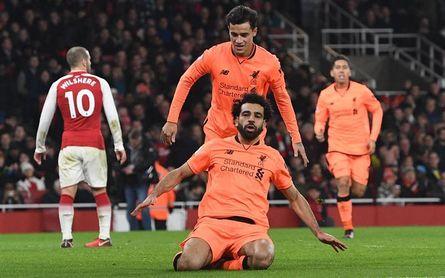 Los errores de Cech y Mignolet animan la locura entre Arsenal y Liverpool
