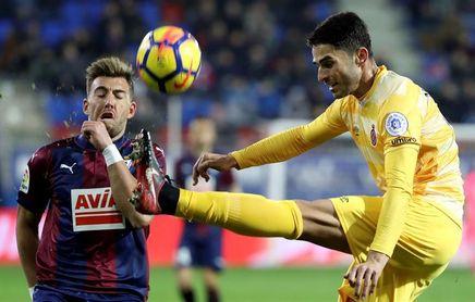 El Girona rompe su buena racha como visitante