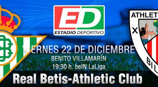 Betis-Athletic: Con buenos deseos y propósito de enmienda