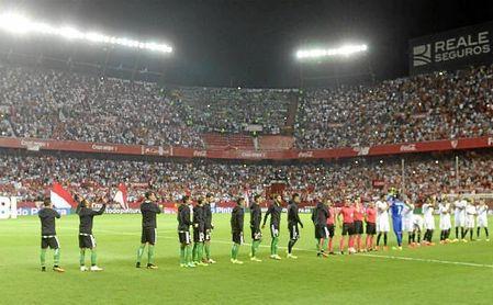 Imagen del derbi del Sánchez-Pizjuán la pasada temporada.