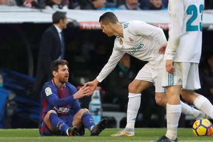 Messi se impuso a Cristiano en el duelo por ser máximo goleador del 2017