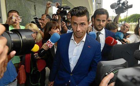 Rubén Castro, el pasado mes de mayo a su llegada a los juzgados.