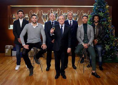 Florentino Pérez: En títulos este ha sido el mejor año de nuestra historia
