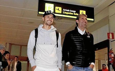 Vitolo será presentado con el Atlético el día 31.