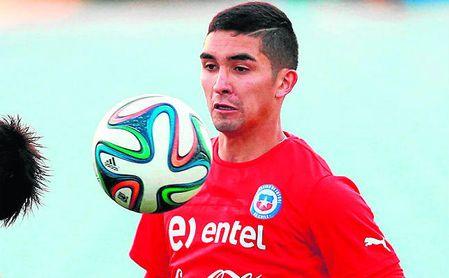 Felipe Gutiérrez, pendiente del Inter de Porto Alegre