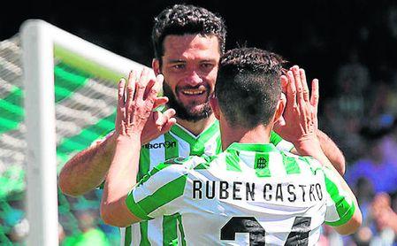 Rubén Castro, el mejor socio de Jorge Molina