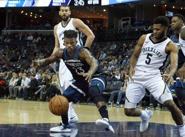 128-125. Butler enciende la prórroga y le da triunfo a los Timberwolves sobre los Nuggets