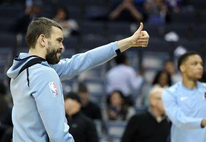 Marc Gasol lidera el triunfo de los Grizzlies; Mirotic ayuda a los Bulls a conseguirlo