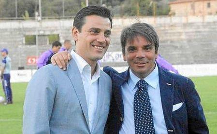 Eziolino Capuano junto a Montella.