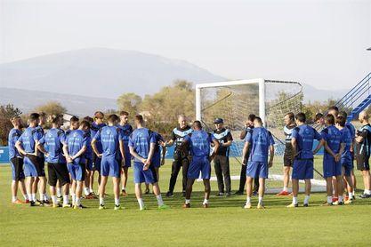 Vigaray y Héctor, ausentes en el regreso del Alavés a los entrenamientos