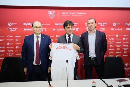 """El Sevilla que quiere Montella: """"Proactivo y con pasión"""""""
