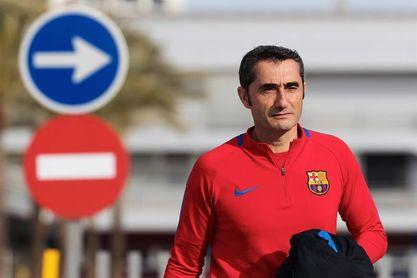 Valverde da fiesta a la plantilla el 1 de enero