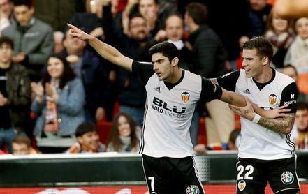 2-1. El Valencia se reencuentra con el triunfo ante un consistente Girona