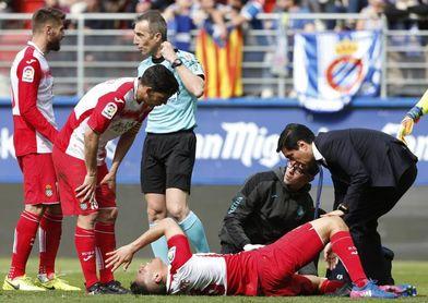 Óscar Duarte sufre una contusión meniscal en la rodilla izquierda