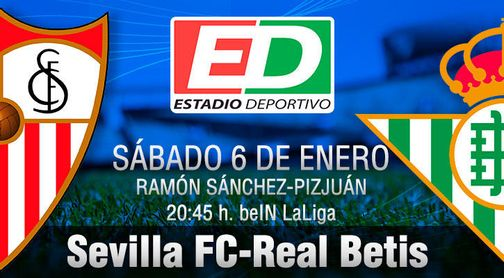 Sevilla FC-Real Betis: Tras el envoltorio, sonrisas o carbón