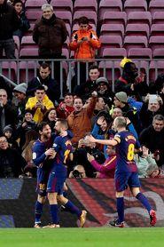 2-0. Messi y Suárez encarrilan el duelo ante el Levante tras el primer tiempo