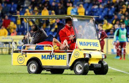Bigas sufre un esguince de rodilla y Sergi Samper, una torcedura de tobillo