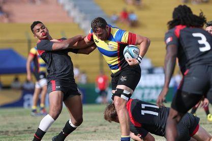 Chile sale invicto en la primera jornada del Suramericano de Rugby 7