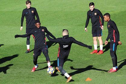 Dembélé y Mascherano, principales novedades en el once en el Barcelona